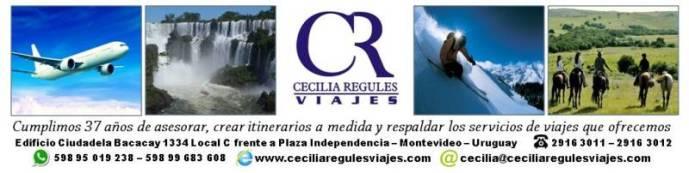 Logo Cecilia Regules Viajes 2018