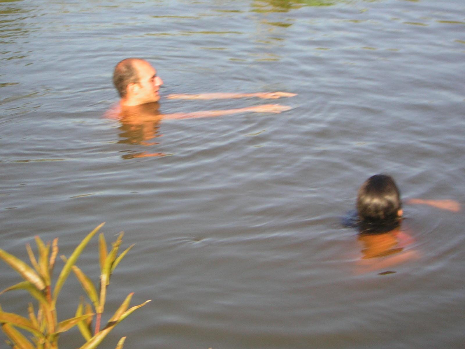 Arroyo en Las Cañadas